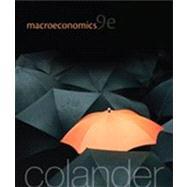 Macroeconomics by Colander, David, 9780077501860
