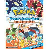 Pokémon Trainer's Sticker Book by Pikachu Press, 9781604381863