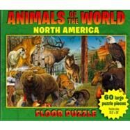 Animals of the World Floor Puzzle by , 9780681501867