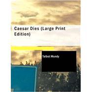 Caesar Dies by Mundy, Talbot, 9781426441868