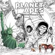 Planet of the Apes Adult Coloring Book by Boulle, Pierre; Magno, Carlos, 9781684151868