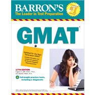 Barron's New GMAT by Jaffe, Eugene D., Ph.D.; Hilbert, Stephen, 9781438001869