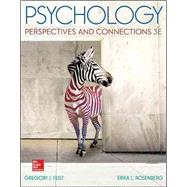 Psychology: Perspectives and Connections by Feist, Gregory; Rosenberg, Erika, 9780077861872