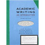 Academic Writing by Giltrow, Janet; Gooding, Richard; Burgoyne, Daniel; Sawatsky, Marlene, 9781554811878