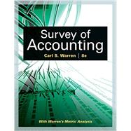 Survey of Accounting by Warren, Carl S., 9781305961883