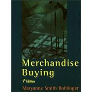 Merchandise Buying by Smith Bohlinger, Maryanne, 9781563671883