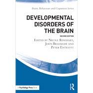 Developmental Disorders of the Brain by Rinehart; Nicole J., 9781138911888