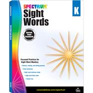 Spectrum Sight Words, Kindergarten by Spectrum, 9781483811888