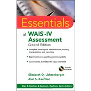 Essentials of WAIS-IV Assessment by Lichtenberger, Elizabeth O.; Kaufman, Alan S., 9781118271889