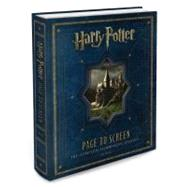 Harry Potter Page to Screen by McCabe, Bob, 9780062101891