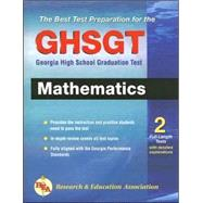The Best Test Preparation For The GHSGT: Georgia High School Graduation Test Mathematics by Research & Education Association, 9780738601892
