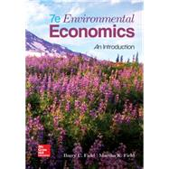 Environmental Economics by Field, Barry; Field, Martha k, 9780078021893