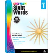 Spectrum Sight Words, Grade 1 by Spectrum, 9781483811895