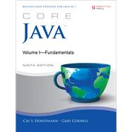 Core Java Volume I--Fundamentals by Horstmann, Cay S., 9780137081899