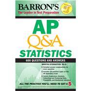 Ap Q&a Statistics by Sternstein, Martin, 9781438011899