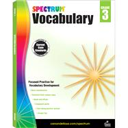Spectrum Vocabulary, Grade 3 by Spectrum, 9781483811901