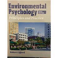 ENVIRONMENTAL PSYCHOLOGY:PRIN.+PRAC. by Unknown, 9780993771903