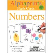 Alphaprints: Wipe Clean Flash Cards Numbers by Priddy, Roger, 9780312521905