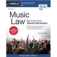 Music Law by Stim, Richard, 9781413321906