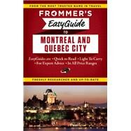 Frommer's EasyGuide to Montreal and Quebec City by Barber, Matthew; Brokaw, Leslie; Trahan, Erin, 9781628871906