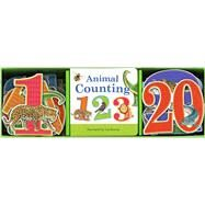 Animal Counting Book & Learning Play Set by Krutop, Lee, 9781626861909