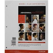 Abnormal Psychology, Book a la Carte Plus NEW MyLab Psychology  -- Access Card Package by Hooley, Jill M.; Butcher, James N.; Nock, Matthew K.; Mineka, Susan M, 9780134481913