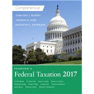 Pearson's Federal Taxation 2017 Comprehensive Plus MyAccountingLab with Pearson eText -- Access Card Package by Pope, Thomas R.; Rupert, Timothy J.; Anderson, Kenneth E., 9780134471914