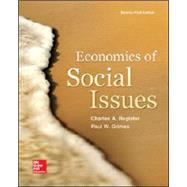 Economics of Social Issues by Register, Charles; Grimes, Paul, 9780078021916