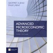 Advanced Microeconomic Theory by Jehle, Geoffrey A.; Reny, Philip J., 9780273731917