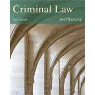Criminal Law by Samaha, Joel, 9781285061917