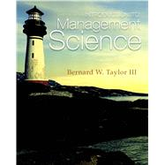 Introduction to Management Science by Taylor, Bernard W., III, 9780132751919