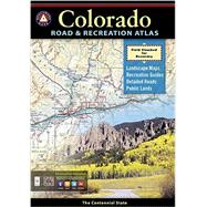 Benchmark Colorado Road and Recreation Atlas 3rd Edition by National Geographic Maps, 9780929591919