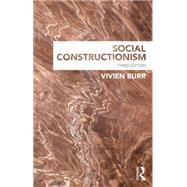Social Constructionism by Burr; Vivien, 9781848721920