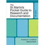 The St. Martin's Pocket Guide to Research and Documentation by Lunsford, Andrea A.; Muth, Marcia F., 9780312661922