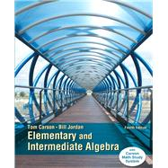 Elementary and Intermediate Algebra, Plus NEW MyMathLab with Pearson eText -- Access Card Package by Carson, Tom; Jordan, Bill E., 9780321951922
