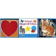 Animal Shapes & Colors Book & Learning Play Set by Krutop, Lee, 9781626861923