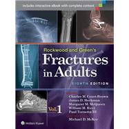 Rockwood and Green's Fractures in Adults by Tornetta, Richard, 9781496301925