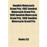 Swedish Motorcycle Grand Prix by , 9781158491926