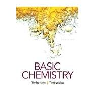 Basic Chemistry (NASTA Edition), 5e, 5/E by Karen C. Timberlake, William Timberlake, 9780134401928
