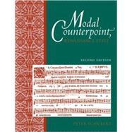 Modal Counterpoint Renaissance Style by Schubert, Peter, 9780195331943