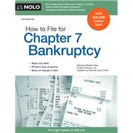 How to File for Chapter 7 Bankruptcy by Elias, Stephen; Renauer Albin; O'neill, Cara, 9781413321944
