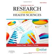 Introduction to Research in the Health Sciences by Polgar, Stephen, Ph.D., 9780702041945