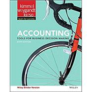Accounting 6e Binder Ready Version + WileyPLUS Registration Card by Kimmel, 9781119221951