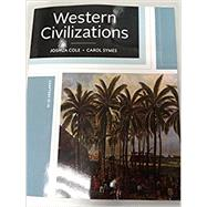 WESTERN CIVILIZATIONS,VOL.B-W/ACCESS by Unknown, 9780393621952