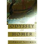 The Odyssey of Homer by Lattimore, Richmond, 9780060931957