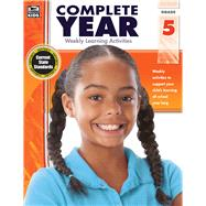 Complete Year, Grade 5 by Thinking Kids; Carson-Dellosa Publishing Company, Inc., 9781483801957