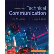 Technical Communication Plus MyWritingLab with Pearson eText -- Access Card Package by Lannon, John M.; Gurak, Laura J., 9780134271958
