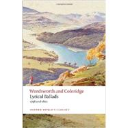 Lyrical Ballads 1798 and 1802 by Wordsworth, William; Coleridge, Samuel Taylor; Stafford, Fiona, 9780199601967