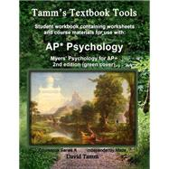 Myers' Psychology for Ap: Relevant Daily Assignments Tailor Made for the Myers Text by Tamm, David, 9781512351972