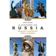 A History of Russia by Riasanovsky, Nicholas; Steinberg, Mark, 9780195341973
